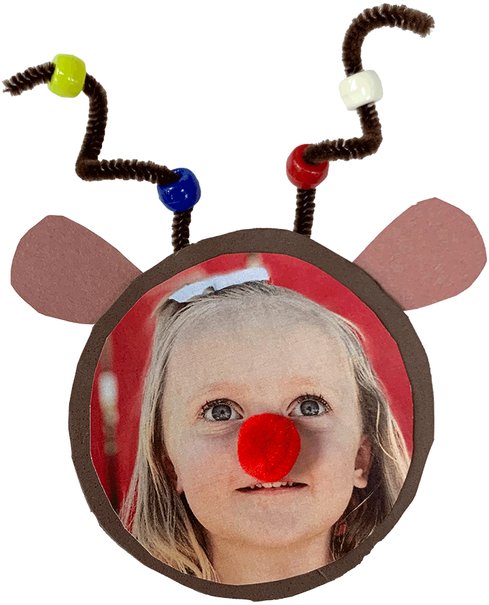 Rudolph Photo Frame Magnet